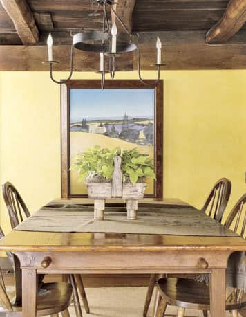 Color Combo: Shaker Yellow with Natural Wood: gallery slide thumbnail 9