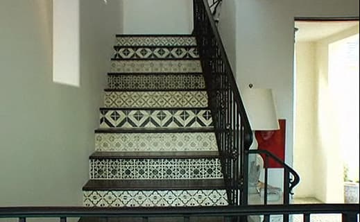 Tiled Stairs: A Few Modern Takes: gallery image 4
