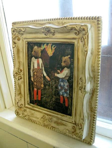 Jen & Rob's Gothic Bungalow: gallery slide thumbnail 16