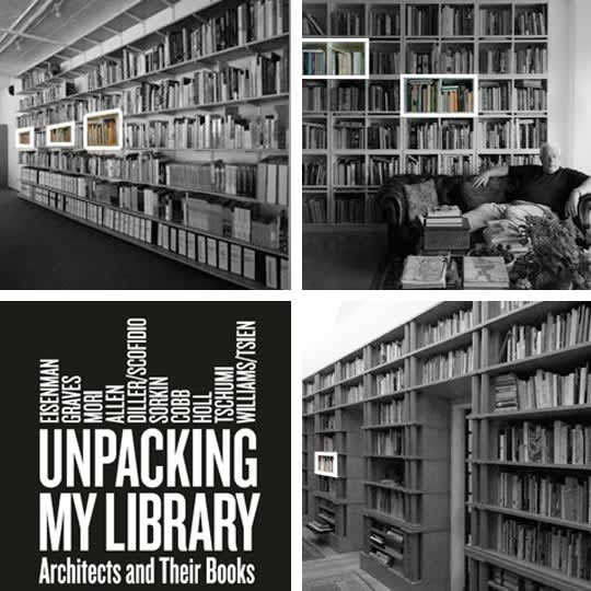 Unpacking My Library: Architects & Their Book Collections: gallery slide thumbnail 4