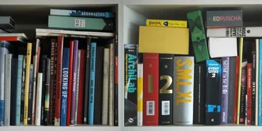 Unpacking My Library: Architects & Their Book Collections: gallery slide thumbnail 1