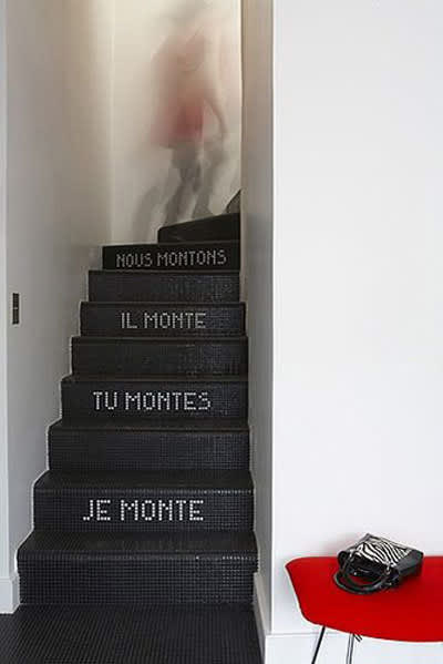 Tiled Stairs: A Few Modern Takes: gallery image 2