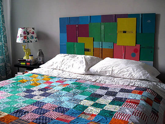 Inspiration: Upcycled DIY Headboards: gallery slide thumbnail 2