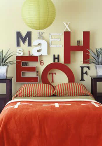 Inspiration: Upcycled DIY Headboards: gallery slide thumbnail 3