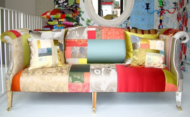 Inspiration: Squint Limited's Colorful Patchwork Furniture: gallery slide thumbnail 2