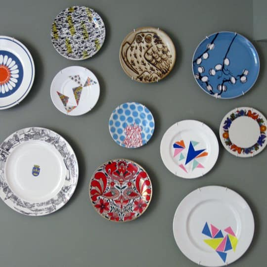 Etsy Find: Upcycled Vintage Plates by Le Petit Boutique: gallery slide thumbnail 1