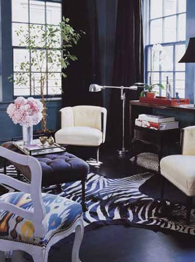 Navy and Black Rooms: gallery slide thumbnail 4