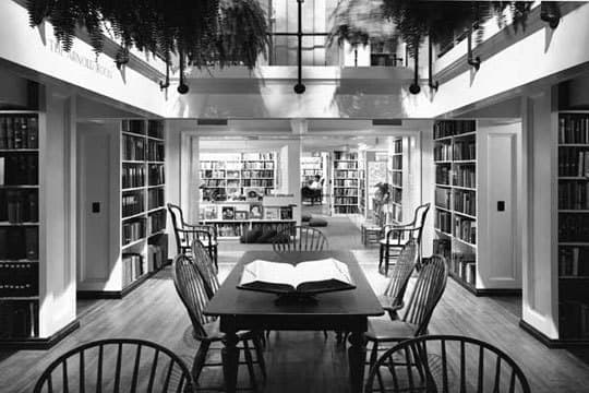 The Providence Athenaeum: A Cozy Historic Library: gallery slide thumbnail 4