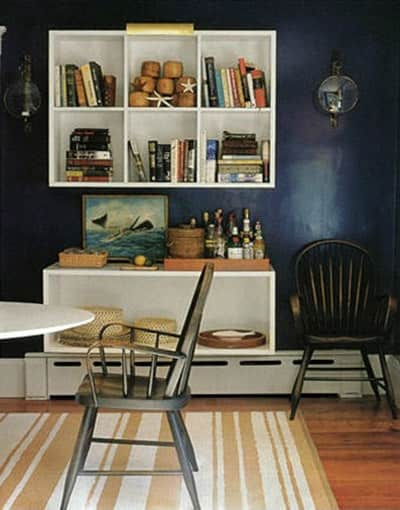 Navy and Black Rooms: gallery slide thumbnail 14