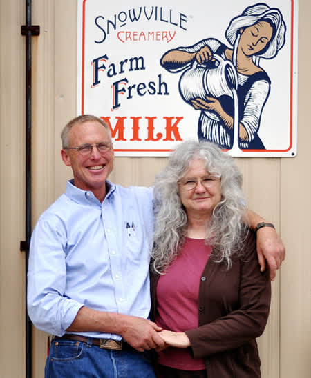 The Way Milk Should Be: A Visit to Snowville CreameryFarm Tour: gallery image 1