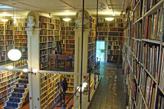 The Providence Athenaeum: A Cozy Historic Library: gallery slide thumbnail 2
