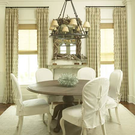 Making it Work: Slipcovered Dining Chairs: gallery slide thumbnail 3
