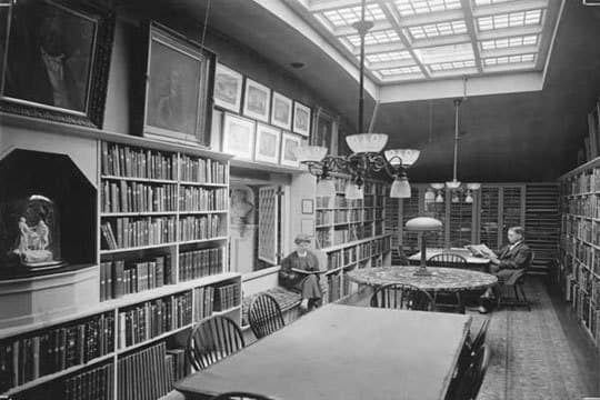 The Providence Athenaeum: A Cozy Historic Library: gallery slide thumbnail 3