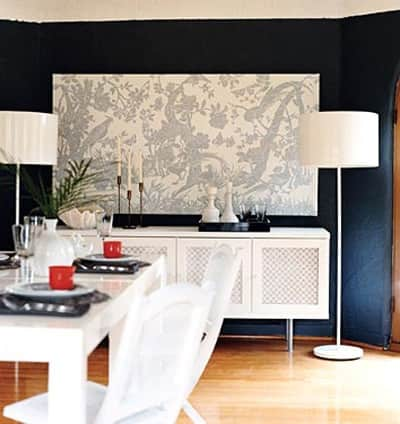 Navy and Black Rooms: gallery slide thumbnail 9