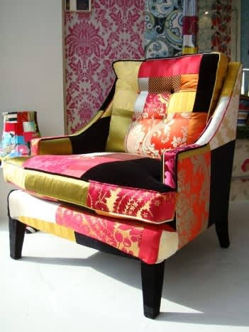 Inspiration: Squint Limited's Colorful Patchwork Furniture: gallery slide thumbnail 3