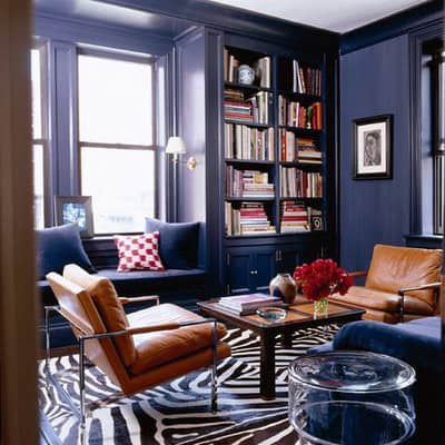 Navy and Black Rooms: gallery slide thumbnail 3