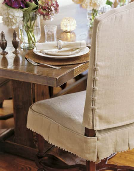 Making it Work: Slipcovered Dining Chairs: gallery slide thumbnail 2