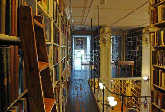 The Providence Athenaeum: A Cozy Historic Library: gallery slide thumbnail 5