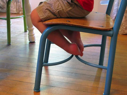Craigslist Makeover: Play Table and Chairs: gallery slide thumbnail 5