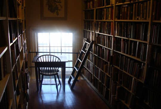 The Providence Athenaeum: A Cozy Historic Library: gallery slide thumbnail 1