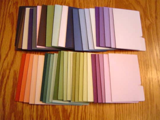 Inspiration: Organizing by Color: gallery slide thumbnail 8