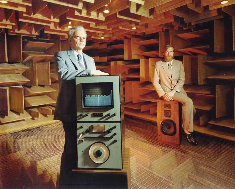 Awesome Anechoic Chamber: McIntosh Laboratories, 1979: gallery slide thumbnail 2