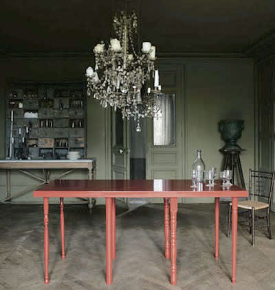 Restyle a Basic Wooden Dining Table: gallery slide thumbnail 4