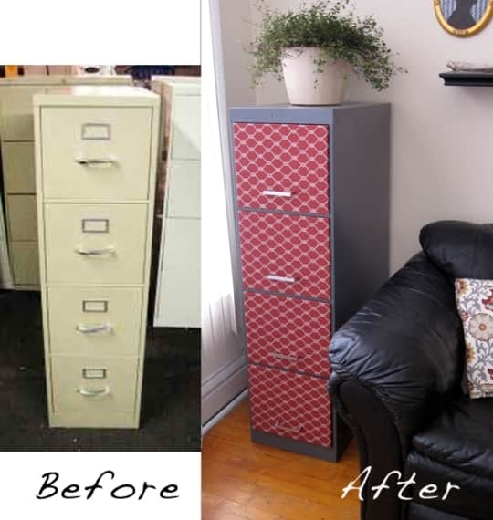 Before & After: Anne's File Cabinet Makeover: gallery slide thumbnail 1