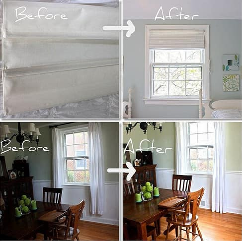 Fabri-Tac-tastic, Part II: No-Sew Window Treatment Redos: gallery slide thumbnail 6