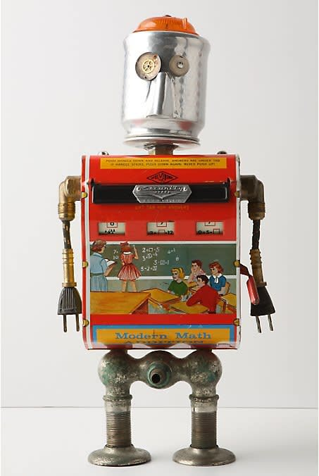 One-Of-A-Kind Found Object Robots at Anthropologie: gallery image 3