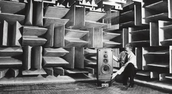 Awesome Anechoic Chamber: McIntosh Laboratories, 1979: gallery slide thumbnail 3