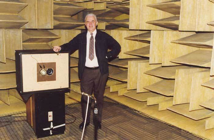 Awesome Anechoic Chamber: McIntosh Laboratories, 1979: gallery slide thumbnail 1