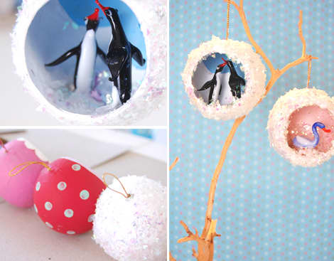 DIY Mini Diorama Ornaments: gallery slide thumbnail 4