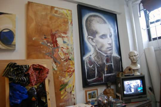 Brian Petro's Lower East Side Studio: gallery slide thumbnail 8
