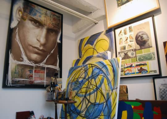 Brian Petro's Lower East Side Studio: gallery slide thumbnail 2