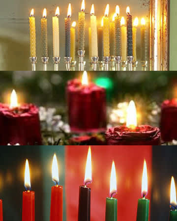 What Color Is Your Holiday? Christmas, Hanukkah & Kwanzaa: gallery slide thumbnail 6