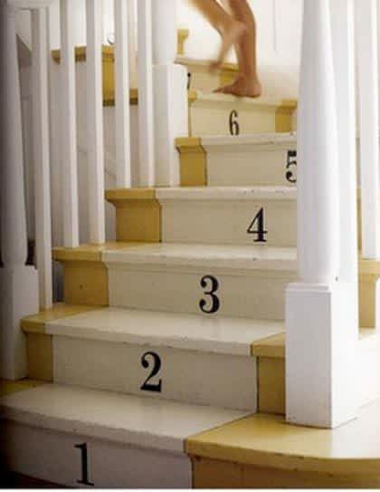 Daring Staircases: Paint, Stencils, & Wallpaper: gallery slide thumbnail 9