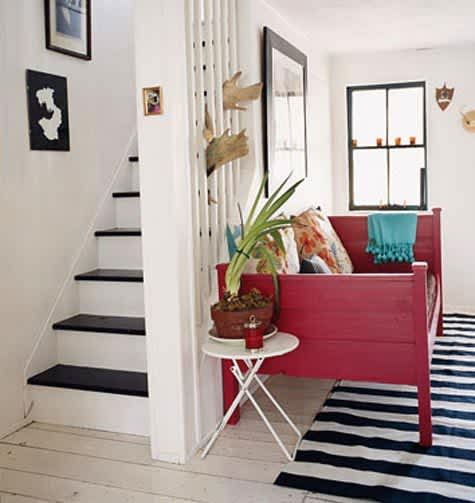 Daring Staircases: Paint, Stencils, & Wallpaper: gallery slide thumbnail 8