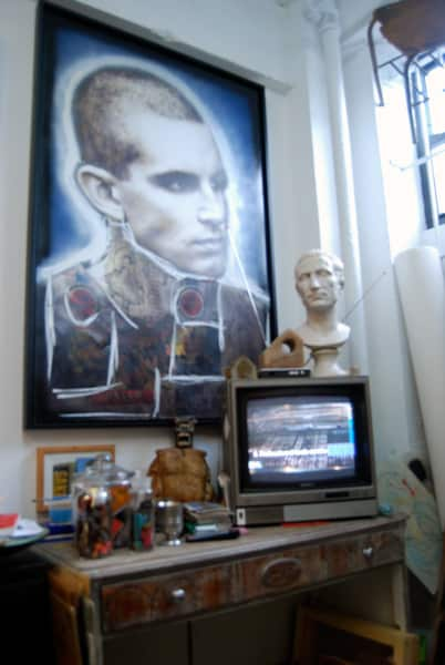 Brian Petro's Lower East Side Studio: gallery slide thumbnail 3