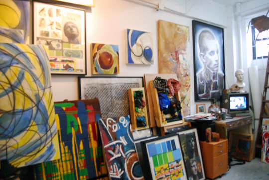 Brian Petro's Lower East Side Studio: gallery slide thumbnail 5
