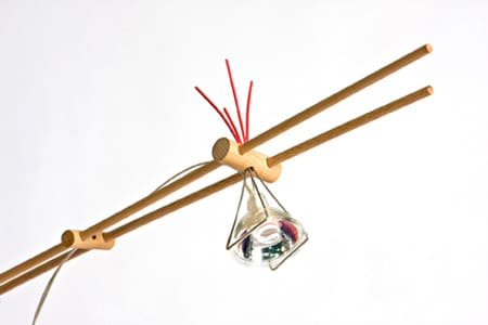 Desk Lamp Held Together with Rubber Bands: gallery slide thumbnail 6