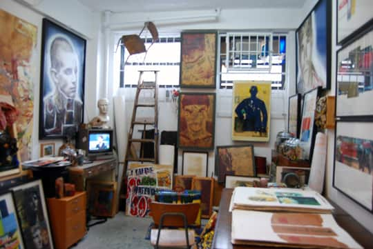 Brian Petro's Lower East Side Studio: gallery slide thumbnail 1
