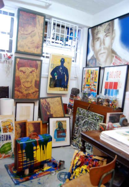 Brian Petro's Lower East Side Studio: gallery slide thumbnail 7