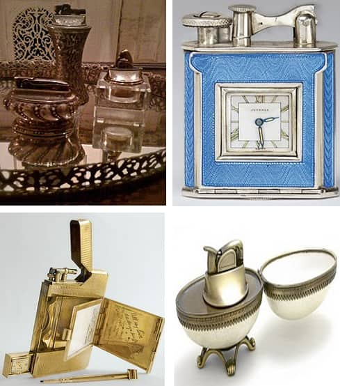 Collections: Scott's Tabletop Cigarette Lighters: gallery slide thumbnail 5