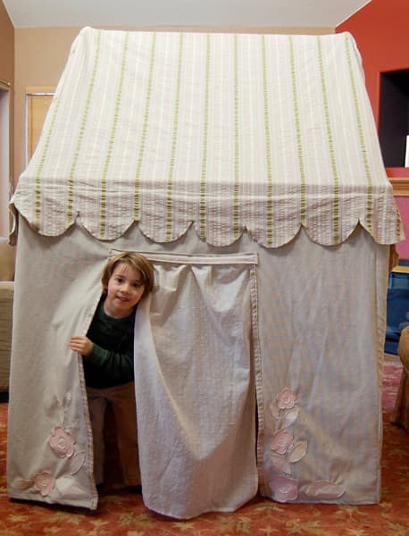 Collapsible Indoor Playhouse: gallery slide thumbnail 1