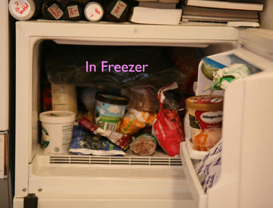 How To Clean Your Jeans Without Water (In the Freezer!): gallery slide thumbnail 1