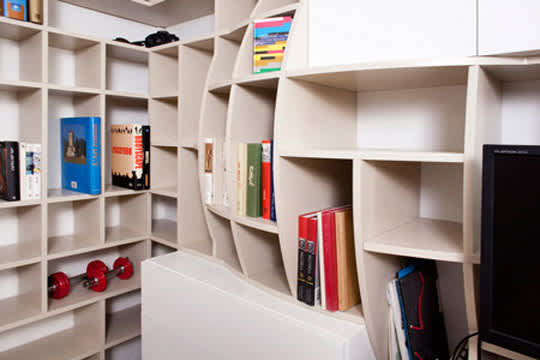 Swollen Wall Shelving & Storage by Paul Coudamy: gallery slide thumbnail 2