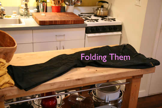 How To Clean Your Jeans Without Water (In the Freezer!): gallery slide thumbnail 2