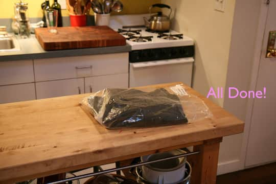 How To Clean Your Jeans Without Water (In the Freezer!): gallery slide thumbnail 6