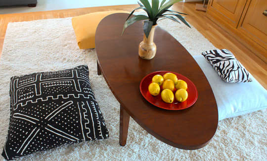 """How To Make """"Fold, Stitch & Stuff"""" Floor Cushions: gallery slide thumbnail 2"""